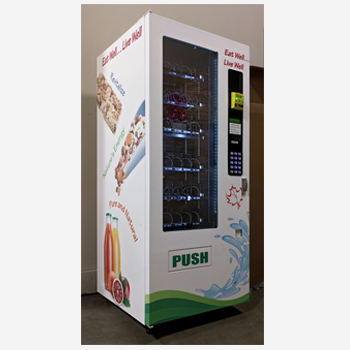 Fresh, healthy, convenient food from a vending machine
